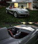 2010 Mercedes-Benz  SLR Stirling Moss by melkorius