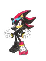 Sonic Riders Style Shadow by SonicXfan007