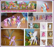 Before and After Shots - Ponyville Display by moltres93