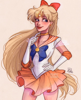 Sailor Venus by itslopez