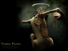 'Under Faith' wallpaper by scarypaper