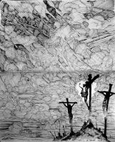 The Darkness at the Crucifixion by The-Hand