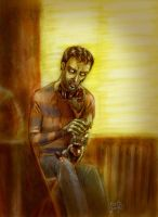 The Artist as a Young Zombie by Tristan-Despero