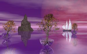 Sailing In Chris' Imagination by Don64738