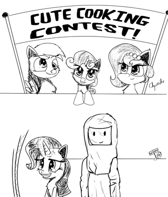 Cute Cooking Contest by Chopsticks-Pony