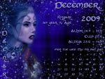 December 2009 desktop calendar by Lirulin-yirth