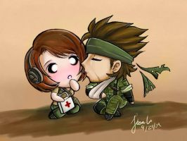 MGS:PO: All in a Day's Work by TheSketcher