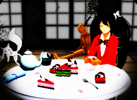 [MMD] Her Sweet and Grotesque World by 0Lyra