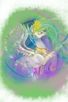 Princess Celestia by Harmonized-Chaos