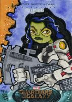 Guardians of the Galaxy - Gamora by 10th-letter