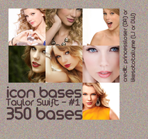 Taylor Swift - Icon Bases - 1 by princessloser