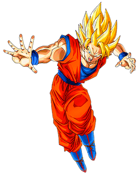 Goku SS1 3 by alexiscabo1