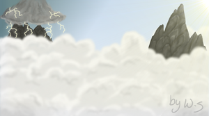 Cloudy Sky Background by Wolf-Shadowrunner