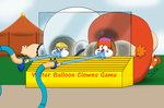 The Twins Plays The Water Balloon Clowns Game! by ToferTheAkita