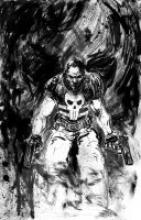 Punisher Commish by ComicMunky