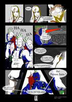 JSRF P11 comic by PinkHeart-Manoon