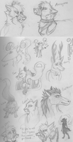 LaF sketches 2 by Zolarise