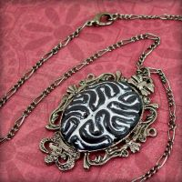 Neuro Necklace - dark thoughts by beatblack