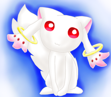 Kyubey Has Come For Your Soul by TheCreatorOfSoften