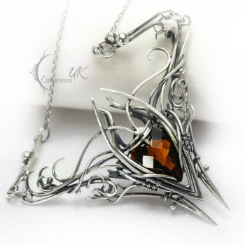 EVINTIAERL  - silver and citrine madeira by LUNARIEEN