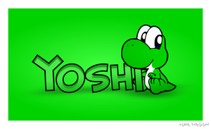 Baby Yoshi by Bluepkmntrainer