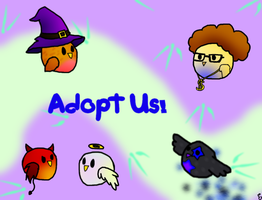 Adopt some Peeplings2 -All Adopted- by funCatty