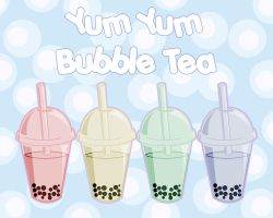 Yum Yum Bubble Tea by querulousArtisan