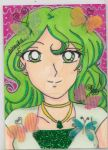 ACEO Commission: Lady Matsudo by YuniNaoki