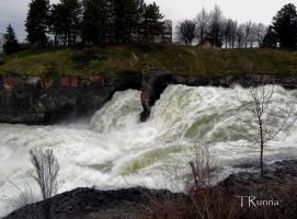 Urban Water Fall by TRunna