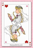 Queen of the Deck Princess Linda by roseprincessmitia