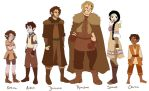 TLOE Character Lineup Pt. 1 by brusierkee