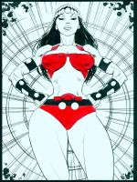 Big Barda by MisterHardtimes