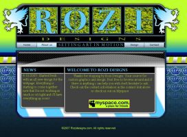 Rozi Interface by ThaIllusionist