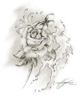 Graphite Rose 25aug10 by Sultzaberger