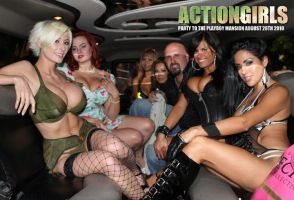 Hummer to Playboy Mansion by ScottyJX