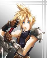 Cloud Strife by DeEtta