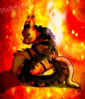 Halloween RQ FINALLY by Storm-Wolf48