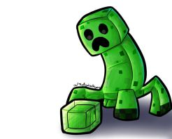 The Creeper and the Slime by ThePsychoDragon