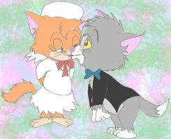 Tom n Jerry Kids Request 0008 by ThrillingRaccoon