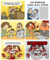 The Danger of Gay Marriage by mapacheanepicstory