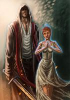 Adrian and Josephine by alecyl