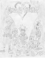 kingdom hearts by Madhatterl7