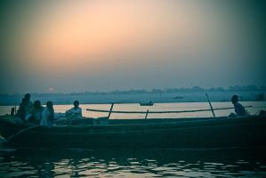 Ganges Life in Lomo by mfunston