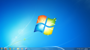 Windows 7 Home Screen by Thunder-Jacob-Wolfe