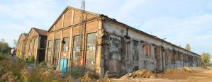 Old Warehouse exterior #00002 - CC Free Stock by PeterKmiecik