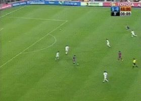 Messi's First Goal - GIF by Lord-Iluvatar