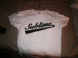 Sublime Stencil Girl Shirt by AlexisFobe