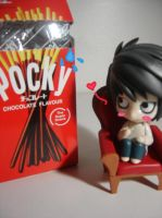 L loves his pocky by lawlilove