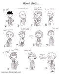 Doctor Who - How I died.... by caycowa