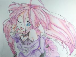 [VOCALOID] IA ~Happy Birthday MeronpanIA!!~ by SmartcookieX